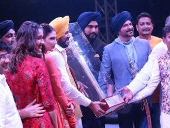 The Team Of Mubarakan Celebrating Sadhbhawna Diwas  Arjun Kapoor  Anil Kapoor  Ileana D'Cruz