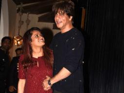Check Out King Khan Shah Rukh At Rohini Iyer's Birthday Party
