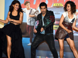 Varun Dhawan & Taapsee Pannu Groove To 'Chalti Hai Kya 9 - 12'   Judwaa 2 Trailer Launch