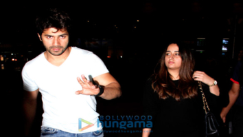 Varun Dhawan, Sridevi and others snapped at the airport