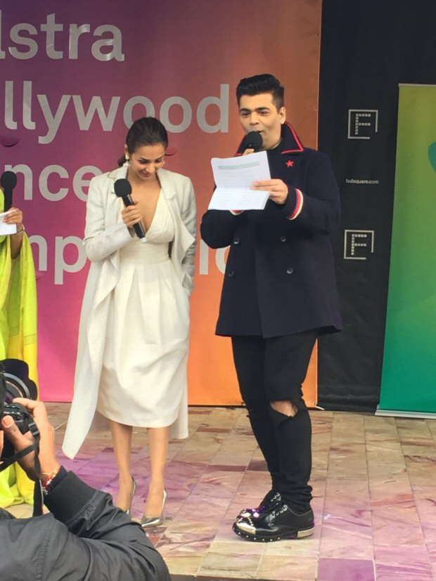 WOW! Dashing Karan Johar, glamorous Malaika Arora spotted giving out prizes at a Melbourne dance competition