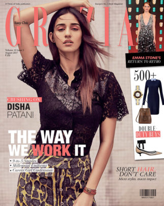 WOW! Disha Patani sizzles on the cover of Grazia India