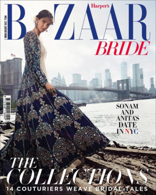 WOW! Sonam Kapoor looks stunning on the cover of Bazaar Bride