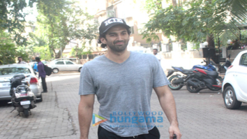 Aditya Roy Kapur spotted at Mohit Suri's office in Bandra