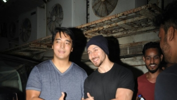Tiger SHroff and RInzing Denzongpa snapped post movie at PVR