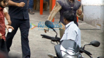 Aamir Khan snapped on the sets of Thugs of Hindostan in Mumbai