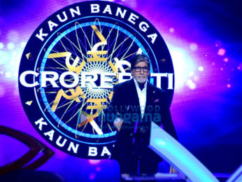 Amitabh Bachchan shoots Kaun Banega Crorepati episode with Super Dancer contestants