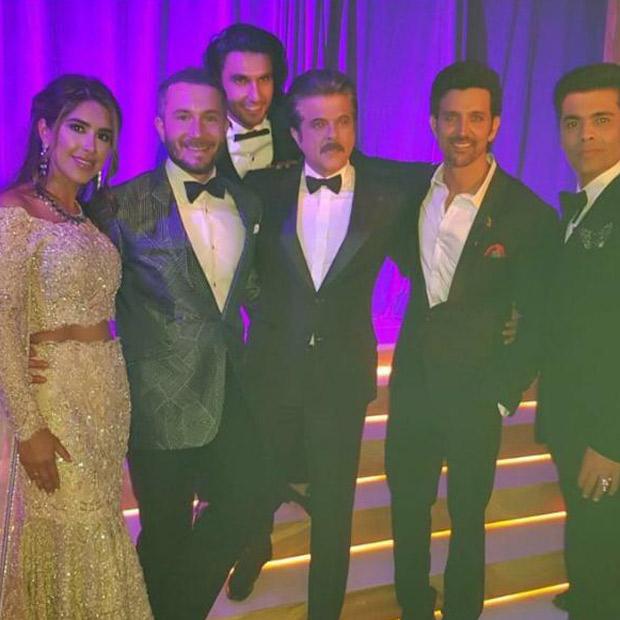 Check out Ranveer Singh, Hrithik Roshan, Karan Johar, Anil Kapoor, Sonam Kapoor party hard at a London wedding (2)