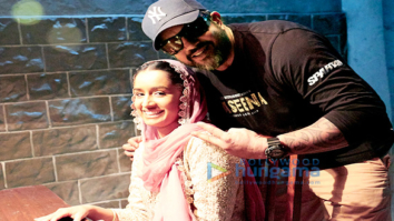 On The Sets Of The Movie Haseena Parkar
