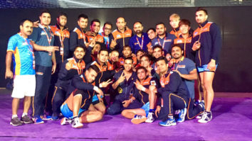 Here's the video of Akshay Kumar practicing with his team Bengal Warriors