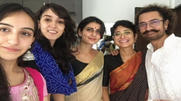 Inside Pics Fatima Sana Shaikh celebrates Eid with Aamir Khan and family1
