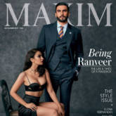 Ranveer Singh On The Cover Of Maxim
