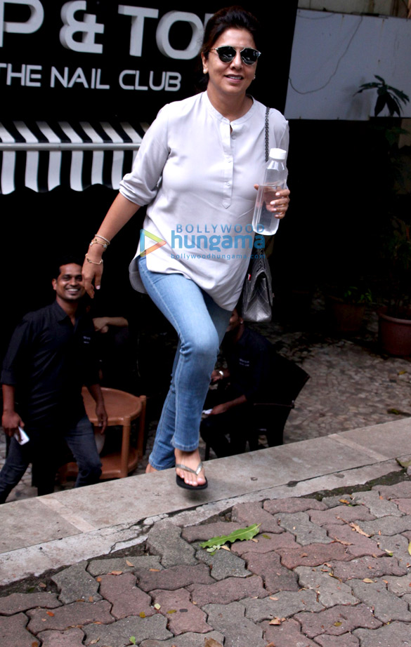 Neetu Singh snapped in Bandra