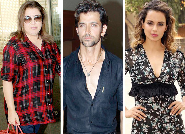 SHOCKING Farah Khan slams Kangana Ranaut for playing the women's card in her feud with Hrithik Roshan
