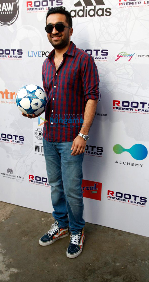 Vidyut Jammwal, Dino Morea, Siddhanth Kapoor at 'Roots Premier League' launch