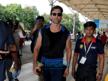 Hrithik Roshan, Sussanne Khan and their children spotted heading to Goa