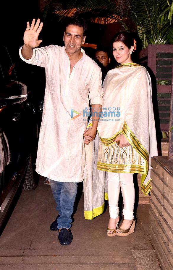 Akshay Kumar, Arjun Kapoor and others at a Diwali bash