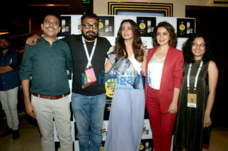 Anurag Kashyap, Neeraj Ghaywan and Tisca Chopra snapped attending a screening at MAMI Film Festival 2017