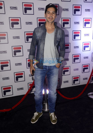 Bollywood stars at the launch of 'Fila Iconic'