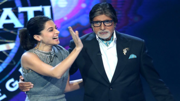 Checkout Taapsee Pannu reunites with Pink co-star Amitabh Bachchan on the sets of Kaun Banega Crorepati 9