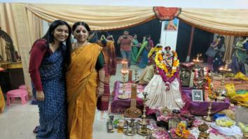 Chef actress Padmapriya Janakiraman pays a surprise visit to her dance guru in Delhi