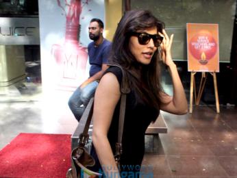 Chitrangda Singh snapped at Juice salon