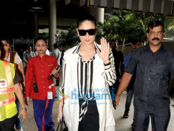 Deepika Padukone and Kareena Kapoor Khan snapped at the airport