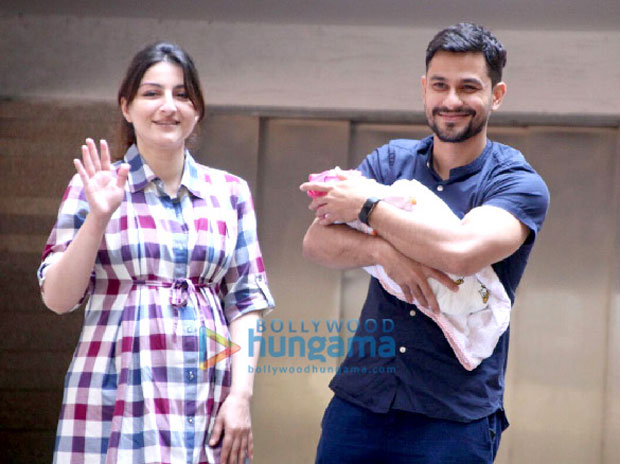 FIRST PHOTOS Soha Ali Khan and Kunal Khemu bring their daughter Inaaya Naumi Khemu home