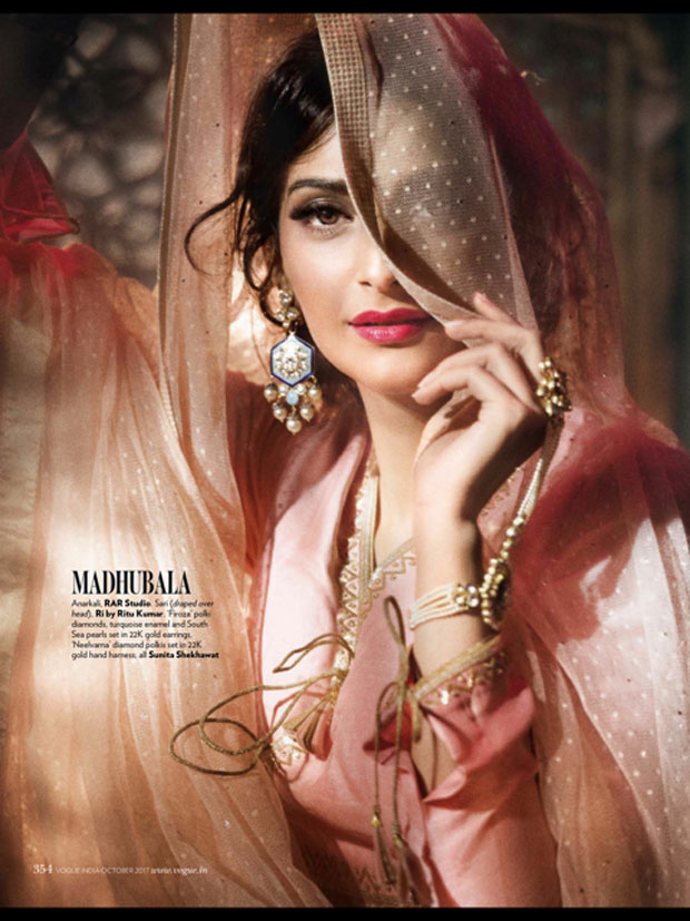 HOTNESS Sonam Kapoor pays tribute to fashion icons with stunning photoshoot for Vogue