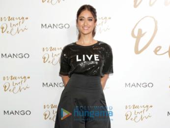 Ileana D'Cruz graces the launch of the new Mango store in Delhi