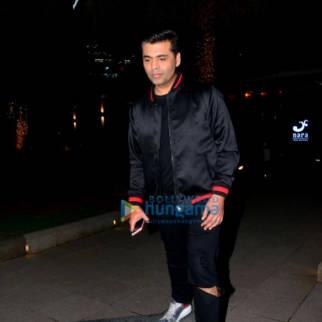 Karan Johar and Twinkle Khanna snapped outside Yauatcha