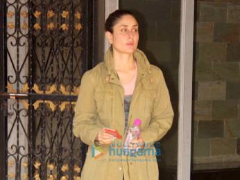 Kareena Kapoor Khan spotted outsider her gym