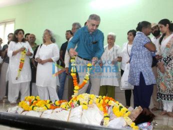 Lekh Tandon's funeral