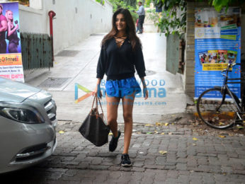 Nidhhi Agerwal snapped post gym
