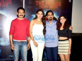 Press meet of the film The House Next Door