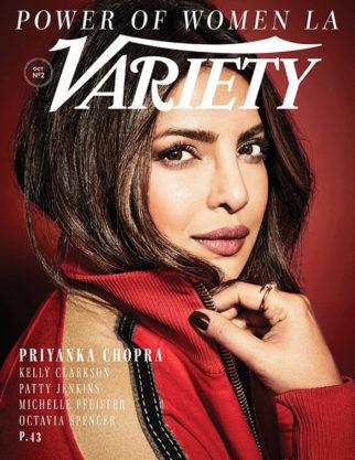 Priyanka Chopra On the covers of Variety