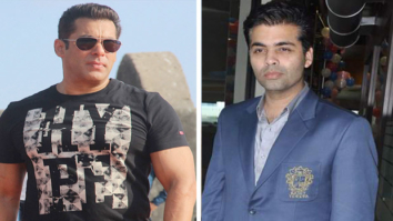 Salman Khan and Karan Johar