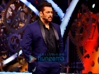 Salman Khan shoots for an episode of 'Bigg Boss 11'