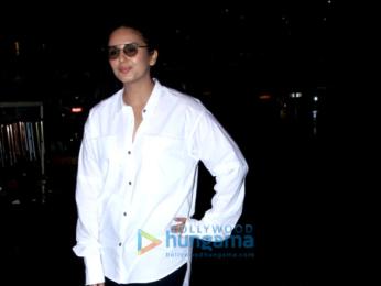 Sidharth Malhotra, Kriti Sanon and Huma Qureshi snapped at the airport