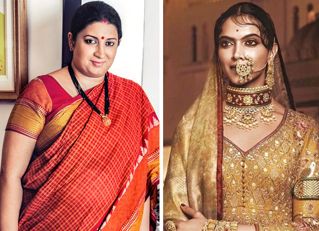 Smriti-Irani-assures-safety-around-the-release-of-Padmavati