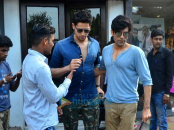 Spotted: Sidharth Malhotra at Bastian