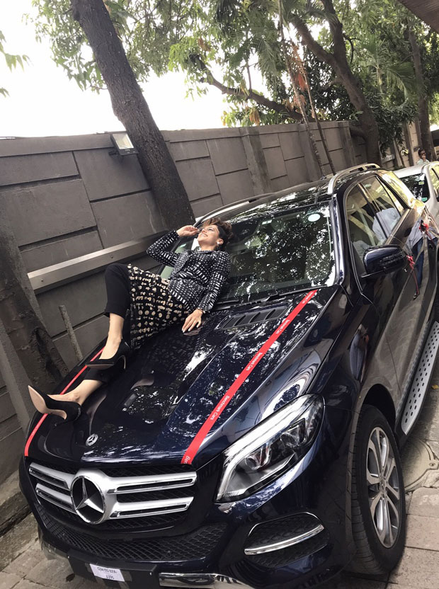 Taapsee Pannu flaunts her new mean machine and we can't stop ogling at it