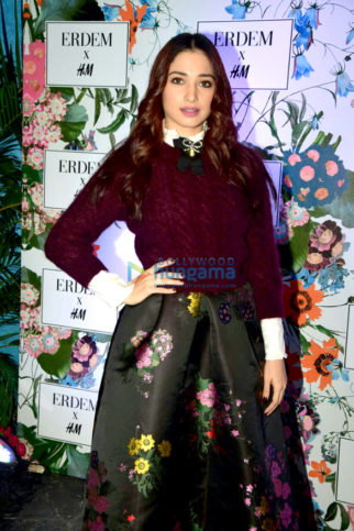 Tamannaah Bhatia attends the H&M event