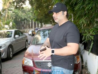 Uday Chopra snapped at Imran Khan's house