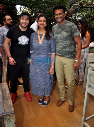 Varun Sharma, Pooja Bedi, Bakhtiyaar Irani, Tanaaz Irani, Baba Sehgal spotted at a Tamil food Festival in Mumbai
