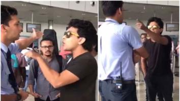 WATCH Aditya Narayan caught on camera misbehaving with airline staff