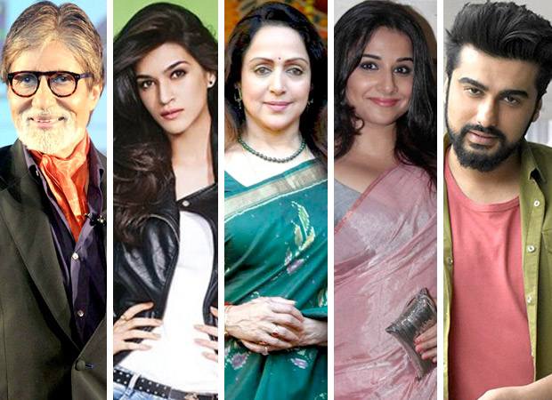 WOW! Amitabh Bachchan, Kriti Sanon, Vidya Balan, Arjun Kapoor and others to come together for this special video
