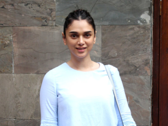 Aditi Rao Hydari and Atul Kasbekar spotted at Indigo in Bandra
