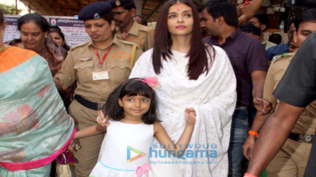 Aishwarya Rai Bachchan and her mom seek blessings at Siddhivinayak temple on her birthday
