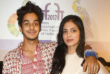 Beyond the Clouds Press Conference Ishaan Khattar Malavika Mohanan IFFI Goa 2017